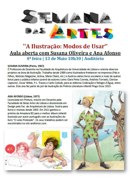 Semana das Artes - Ana Afonso e Susana Oliveira