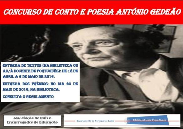 Concurso de Conto e Poesia António Gedeão-jpeg