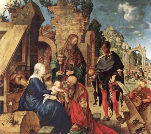 Albert Durer-adoration of the magi